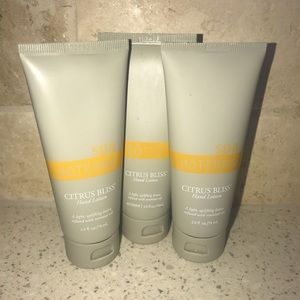 New Lot of 3 Doterra Citrus Bliss Spa Hand lotion